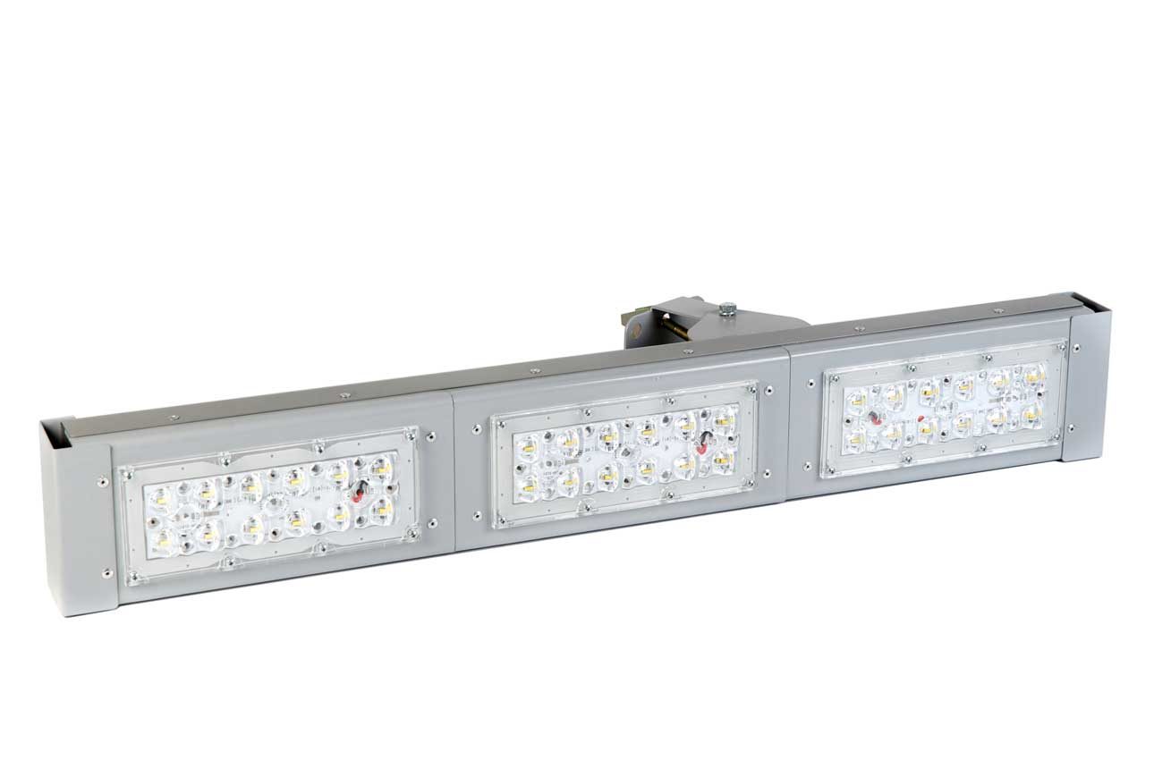 Магистральный светодиодный светильник «Шеврон Магистраль» 100 Вт